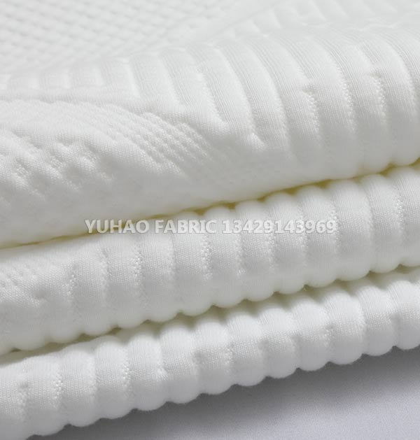 White pattern Ordinary knitted jacquard