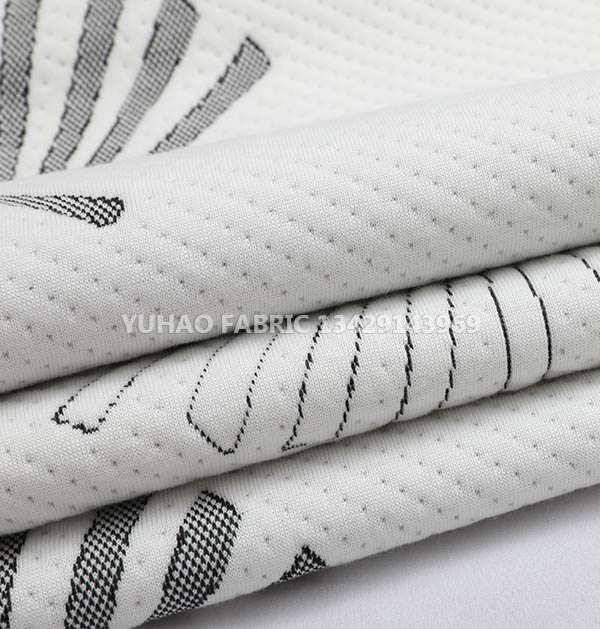 Ordinary knitted jacquard-10%Spandex+90%Polyester