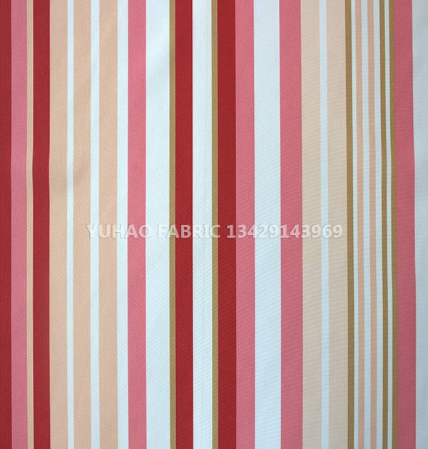 brushed printed fabric-color stripes