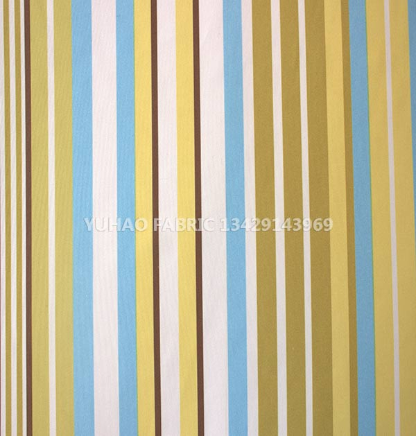 brushed printed fabric-long stripes