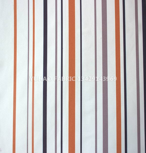 brushed printed fabric-Striped Blend