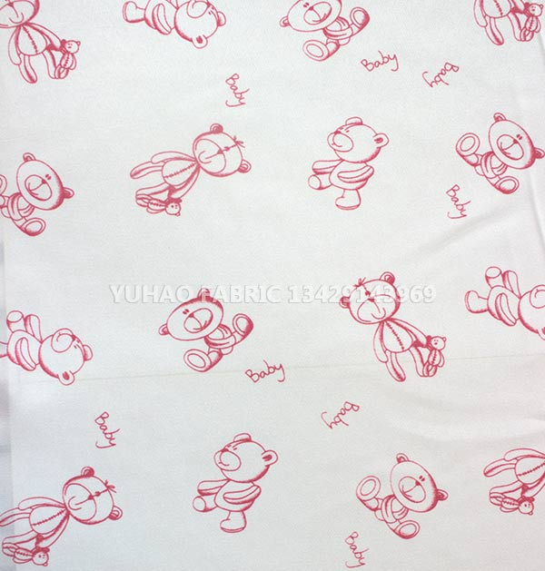 brushed printed fabric-RLP-10