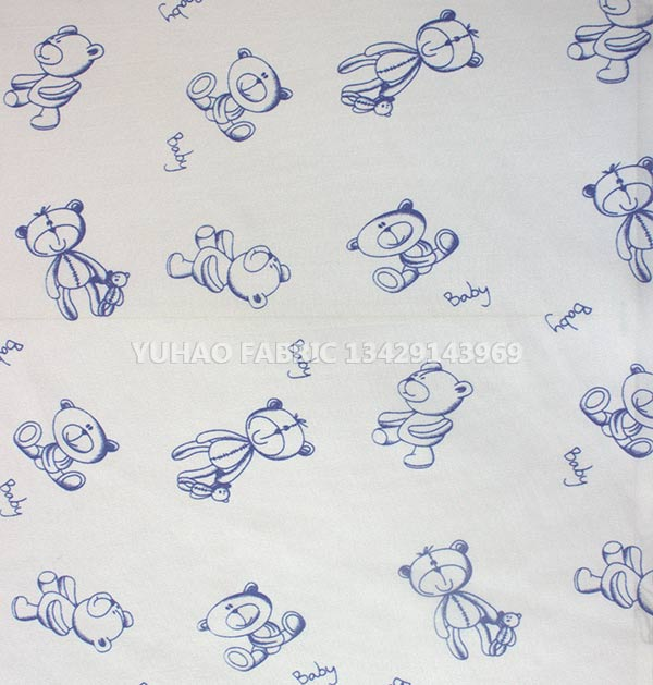 Samples Can Be Customized brushed printed fabric