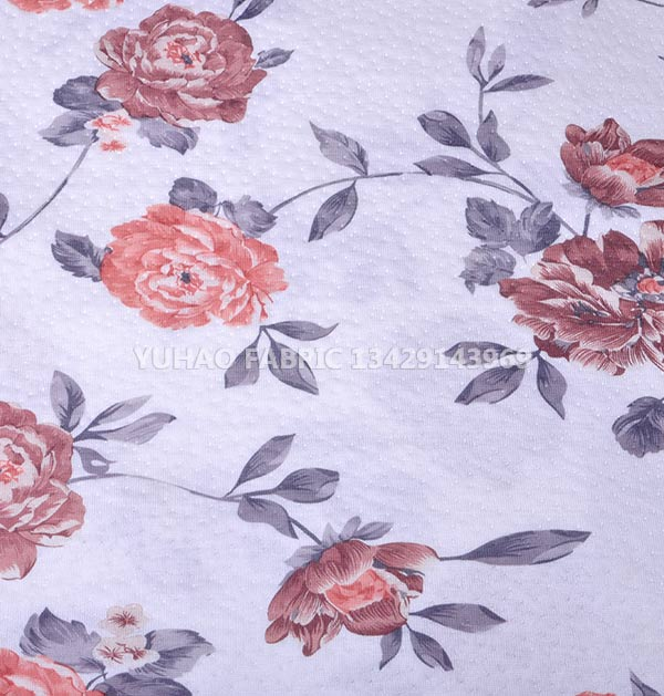 HangZhou knits printed fabric