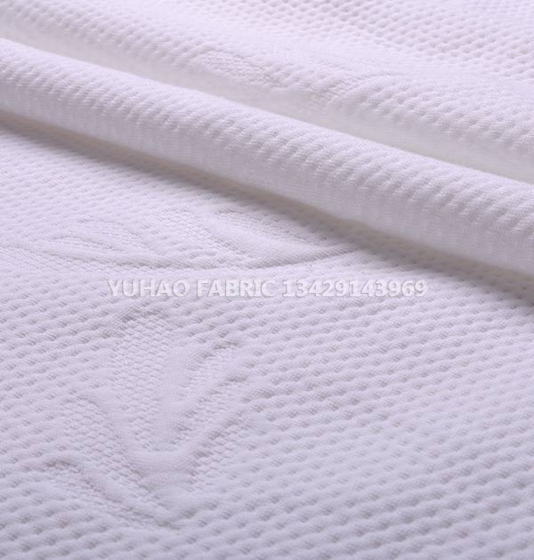 Custom color printing knitted jacquard fabric