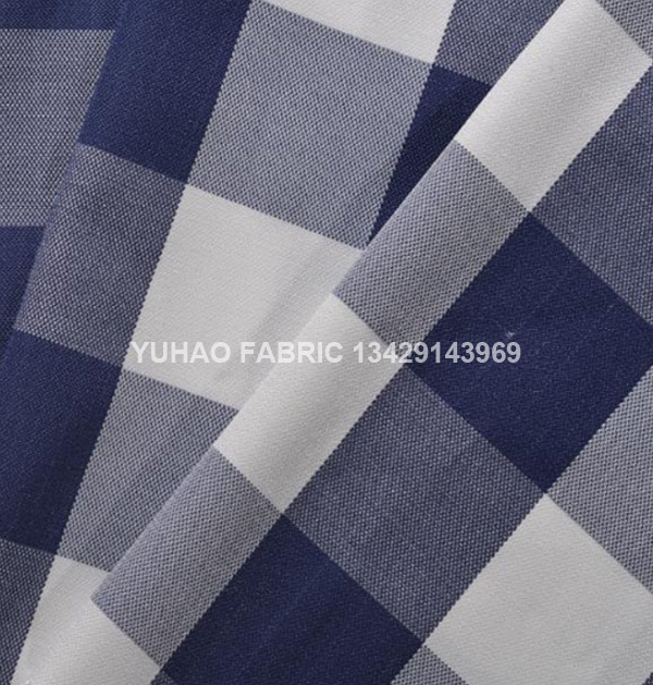 jacquard printed fabric-Plaid cloth